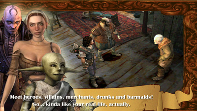 The Bard's Tale: Remastered and Resnarkled Screenshot 4