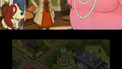 Layton's Mystery Journey: Katrielle and the Millionaires' Conspiracy Screenshot 1