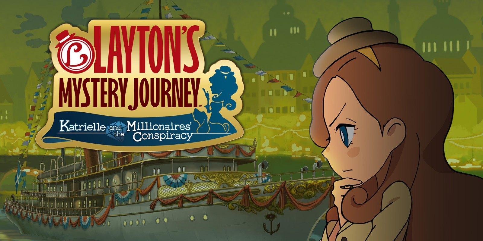 Layton's Mystery Journey: Katrielle and the Millionaires' Conspiracy Masthead
