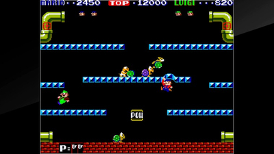 Arcade Archives Mario Bros. Screenshot 1