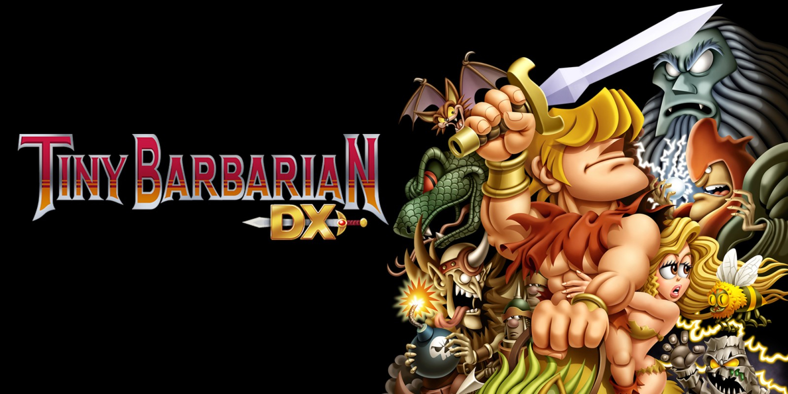 Tiny Barbarian DX Masthead