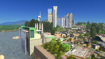 Cities: Skylines - Green Cities Screenshot 1