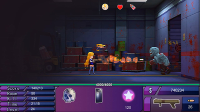 ShineG in the Zombies Screenshot 1