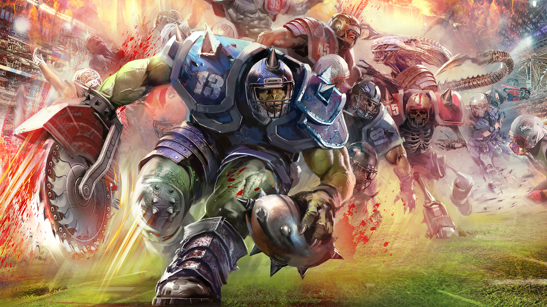 Mutant Football League Masthead