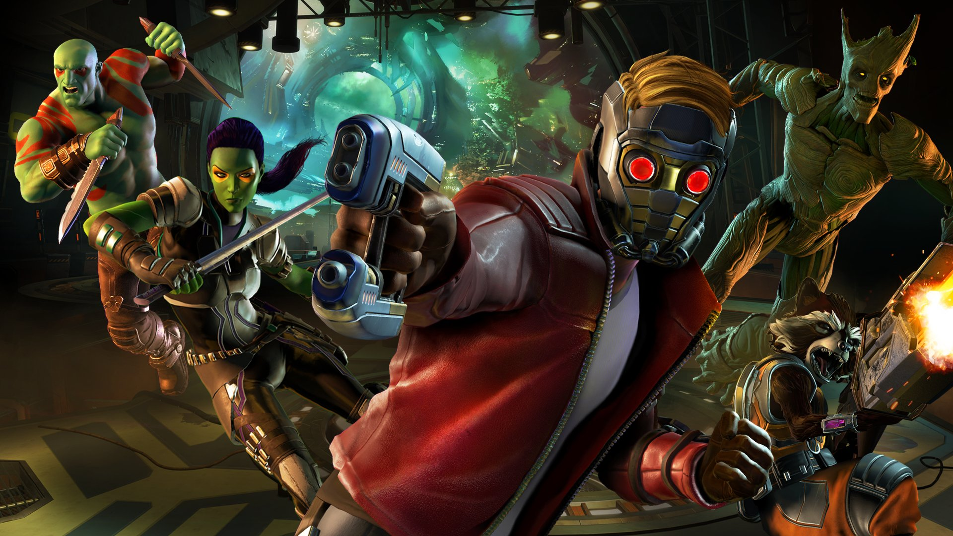 Marvel's Guardians of the Galaxy: The Telltale Series Masthead
