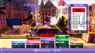 Monopoly for Nintendo Switch Screenshot 2