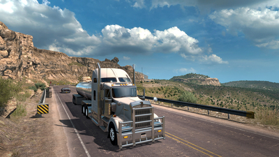 American Truck Simulator - New Mexico Screenshot 1