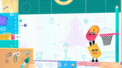 Snipperclips: Cut It Out, Together! Screenshot 2
