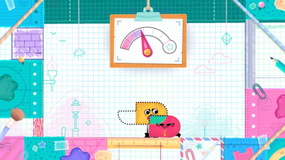 Snipperclips: Cut It Out, Together! Masthead