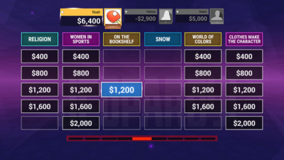 Jeopardy! Screenshot 2