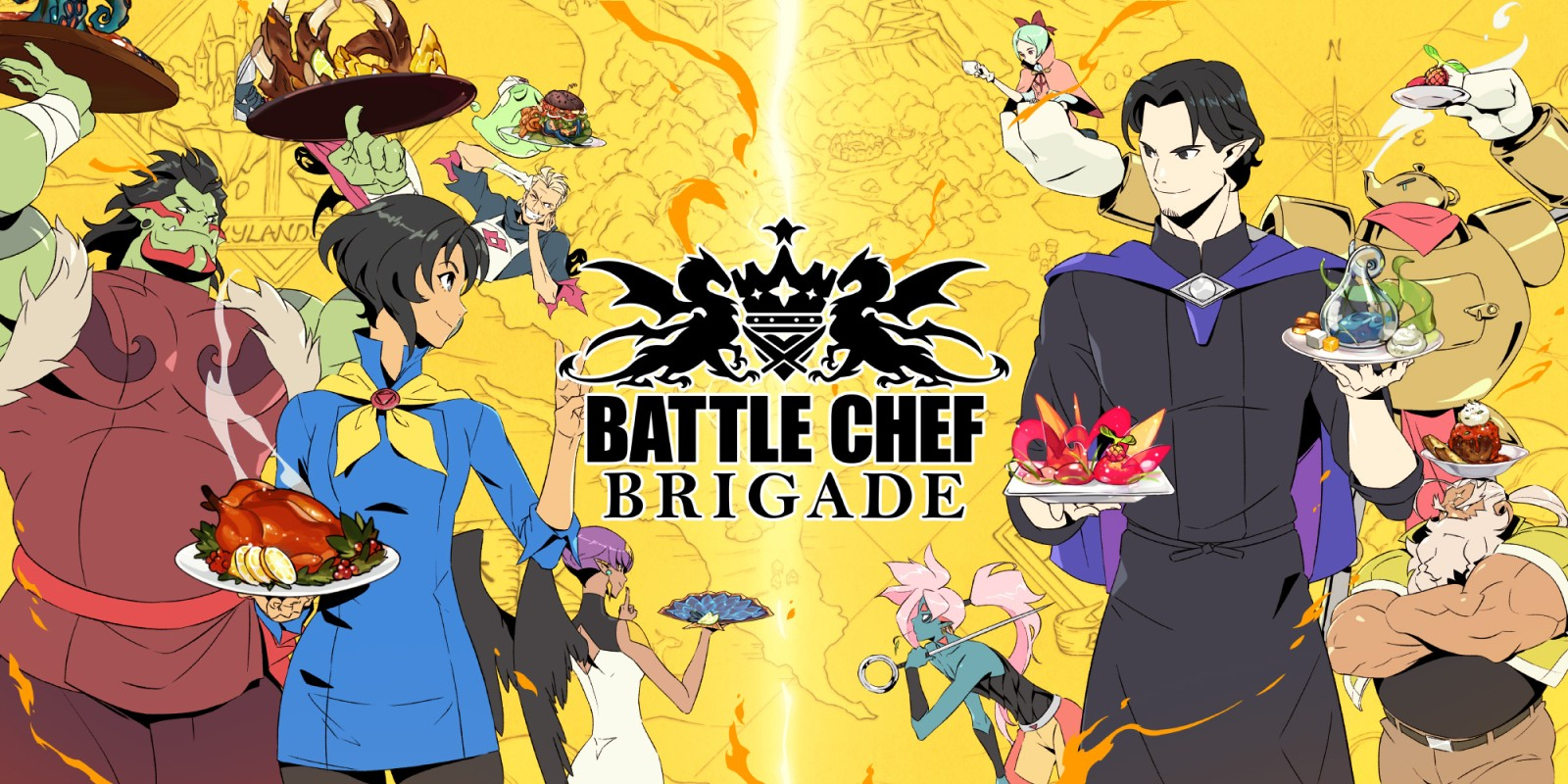 Battle Chef Brigade Masthead