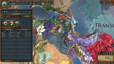Europa Universalis IV: Cradle of Civilization Screenshot 1