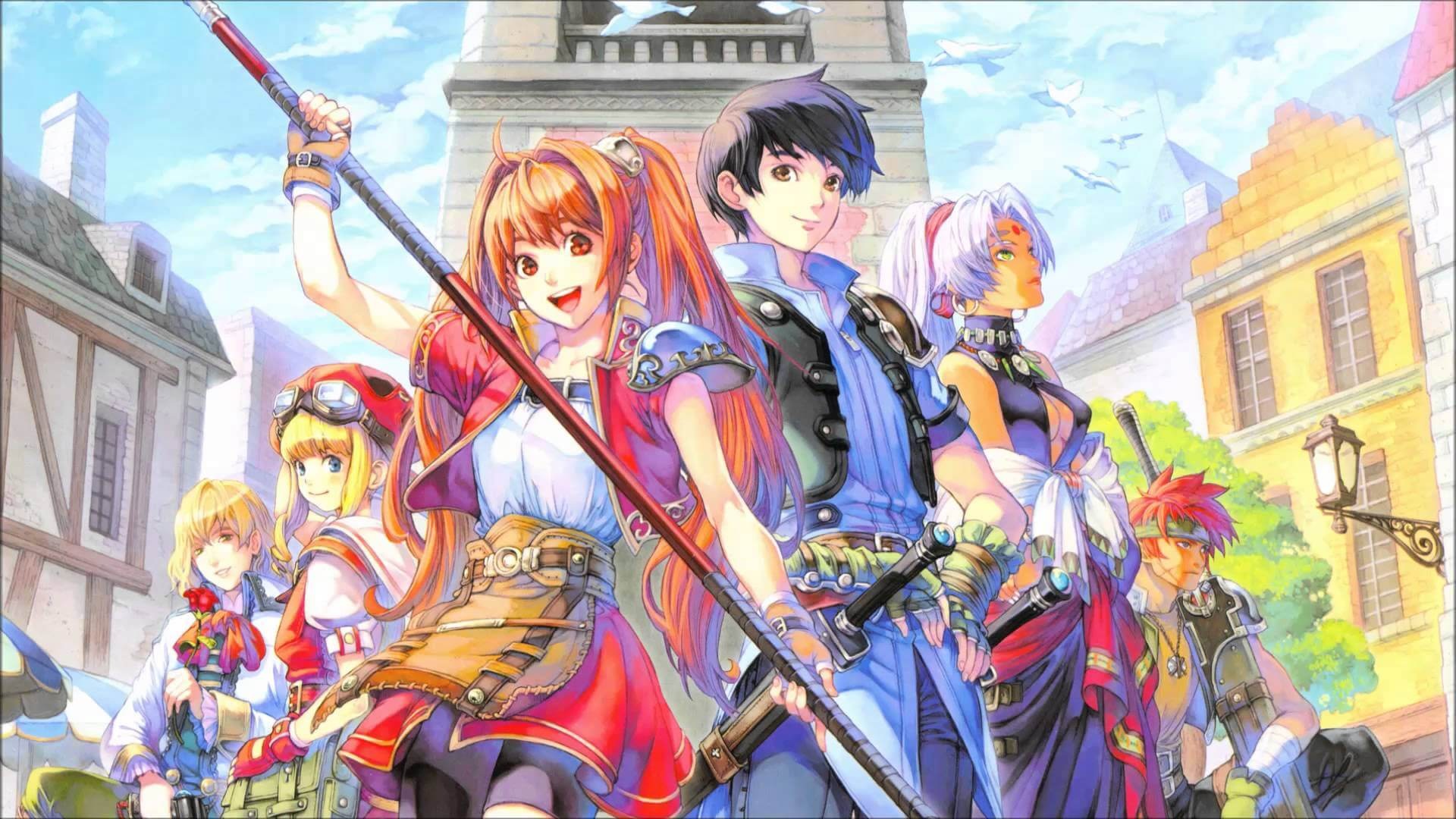 The Legend of Heroes: Trails in the Sky Masthead