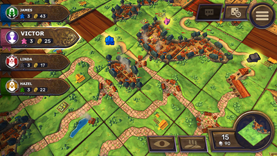Carcassonne - Tiles & Tactics Screenshot 2