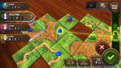 Carcassonne - Tiles & Tactics Screenshot 1
