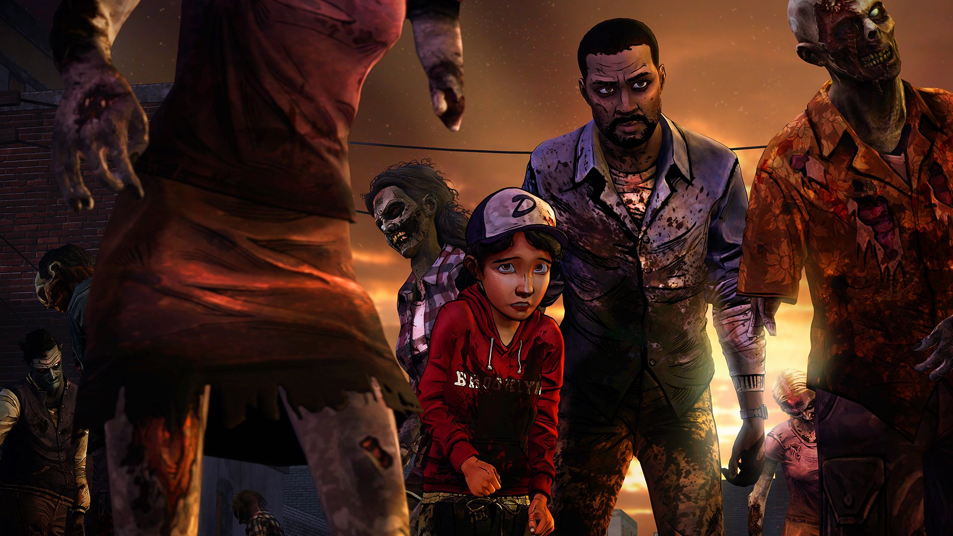 The Walking Dead: The Telltale Series Collection Masthead