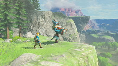 The Legend of Zelda: Breath of the Wild - The Champion's Ballad Screenshot 1