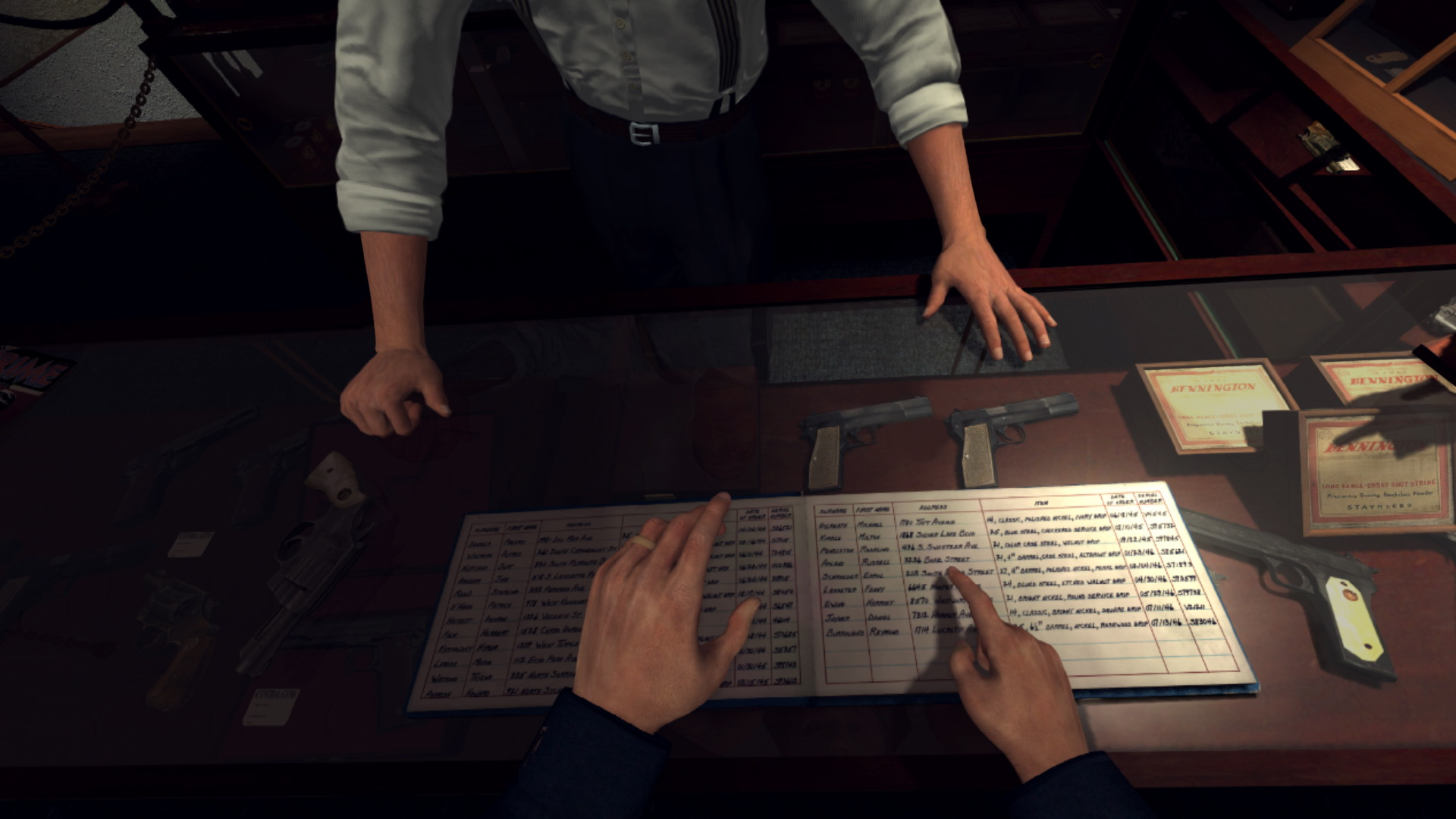 L.A. Noire: The VR Case Files Masthead