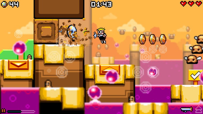 Mutant Mudds Collection Screenshot 1