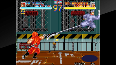 ACA NEOGEO World Heroes Screenshot 3