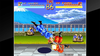 ACA NEOGEO World Heroes Screenshot 1