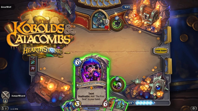 Hearthstone: Kobolds and Catacombs Screenshot 1