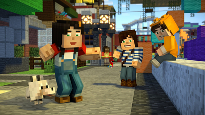 Minecraft: Story Mode - Season Two, Episode Five Screenshot 1