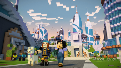 Minecraft: Story Mode - Season Two, Episode Five Screenshot 3
