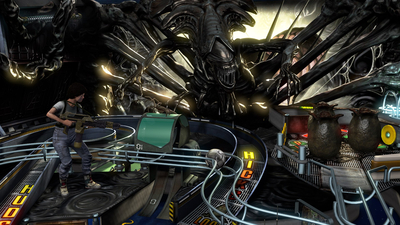 Pinball FX3: Aliens vs. Pinball Screenshot 1