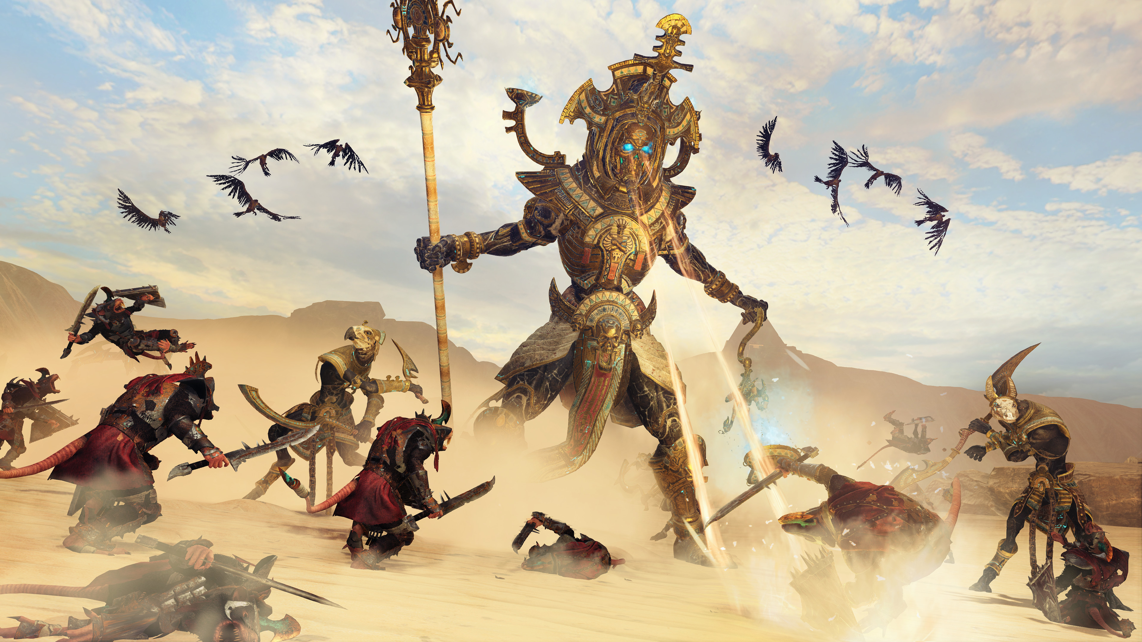 Total War: Warhammer 2 – Rise of the Tomb Kings Masthead