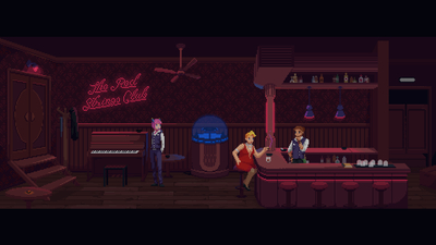The Red Strings Club Screenshot 1