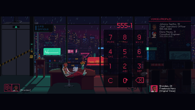 The Red Strings Club Screenshot 5