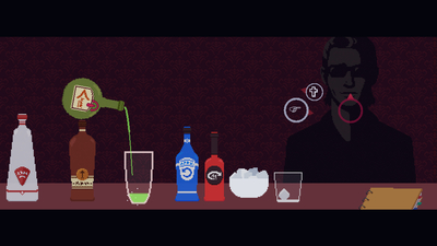 The Red Strings Club Screenshot 2