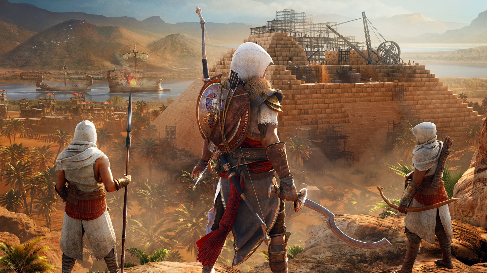 Assassin's Creed Origins: The Hidden Ones Masthead