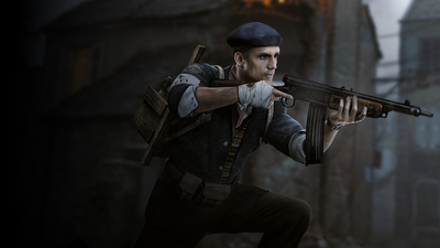 Call of Duty: WWII - The Resistance Masthead