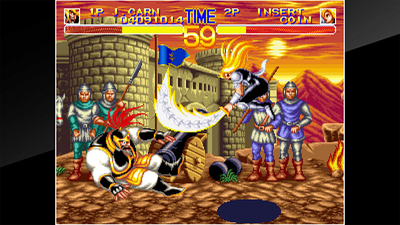 ACA NEOGEO World Heroes 2 Screenshot 4
