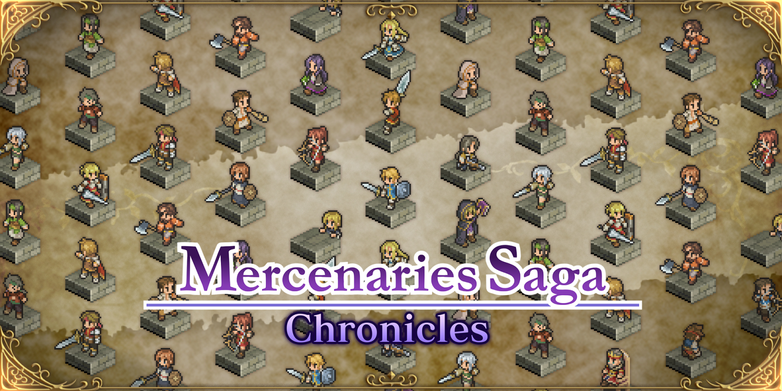 Mercenaries Saga Chronicles Masthead