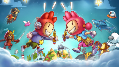 Scribblenauts Showdown Masthead