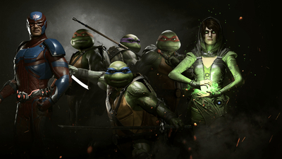 Injustice 2 - Teenage Mutant Ninja Turtles Masthead