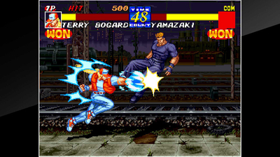 ACA NEOGEO Fatal Fury 3 Screenshot 1