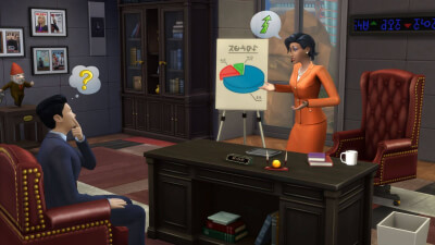 The Sims 4: Get to Work Screenshot 1