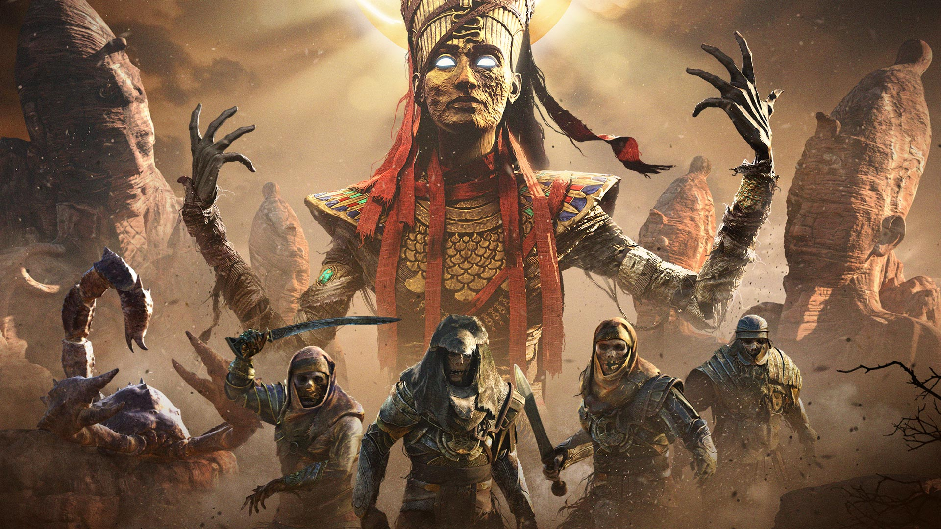 Assassin's Creed Origins: The Curse of the Pharaohs Masthead