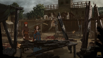 Ken Follett's The Pillars of the Earth - Book Three Screenshot 1