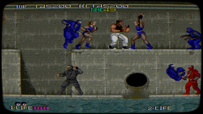 Johnny Turbo's Arcade: Bad Dudes Screenshot 2