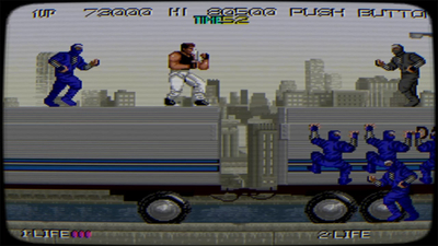 Johnny Turbo's Arcade: Bad Dudes Screenshot 1