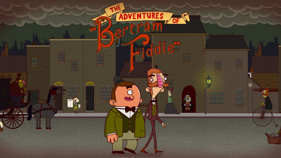The Adventures of Bertram Fiddle: Episode 1: A Dreadly Business Masthead