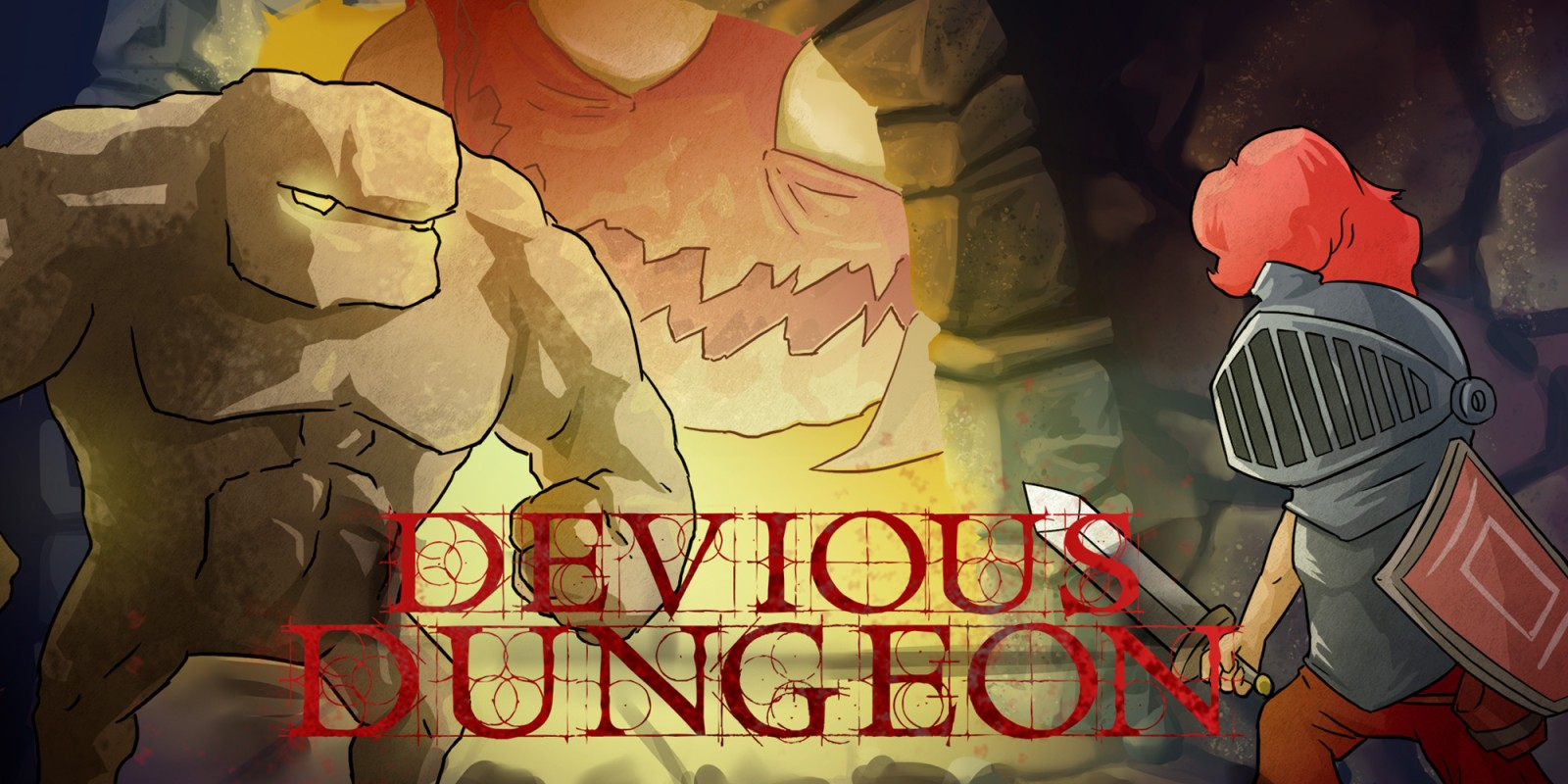 Devious Dungeon Masthead