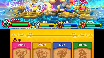 Team Kirby Clash Deluxe Screenshot 1