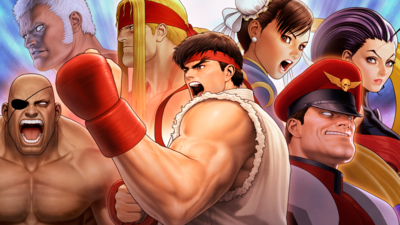 Street Fighter 30th Anniversary Collection Masthead