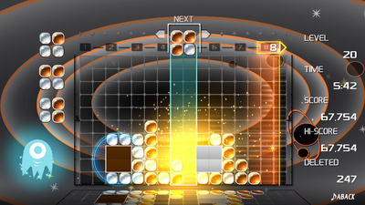 Lumines Remastered Screenshot 2